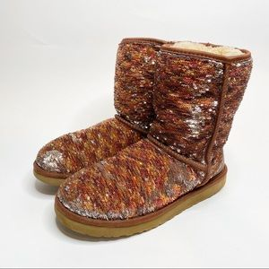 UGG Sequin Boots Size 10